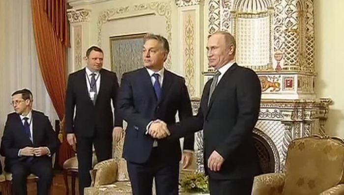 Венгрия в ожидании визита Владимира Путина