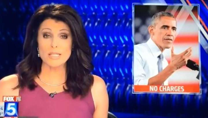 Американский телеканал показал фото Обамы в сюжете о предполагаемом насильнике