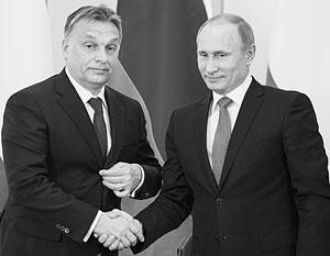 Венгерский визит Владимира Путина : «Люди счастливы, что русские возвращаются»