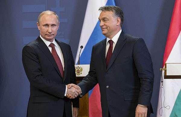 Россия согласовала с Венгрией поставки газа. Президент России и премьер Венгрии