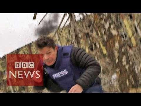 Репортаж BBC о «нарушении перемирия ополчением» прервал обстрел ВСУ
