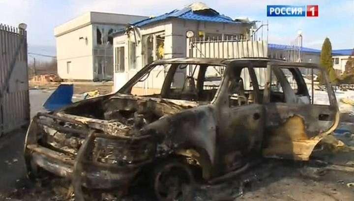 Выжженная земля Дебальцева: уходя, каратели оставляли растяжки и своих раненых