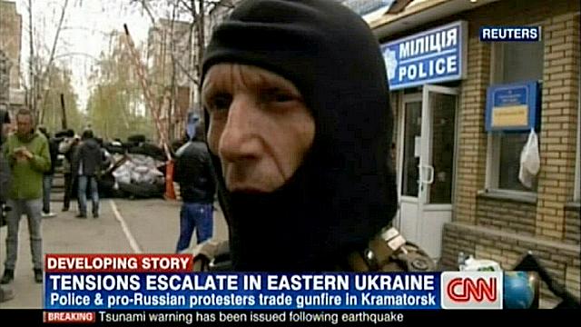 Вооружённые активисты на востоке Украины требуют референдума
