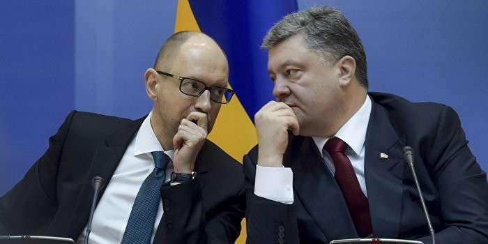 Яценюк и Порошенко уничтожат 90% украинцев с «цинизмом серийных убийц»