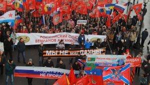 Шествия и митинги «Антимайдана» проходят по всей России