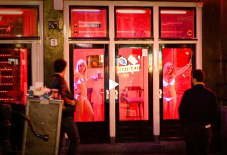 Аллея «Небесной сотни» стала Улицей красных фонарей