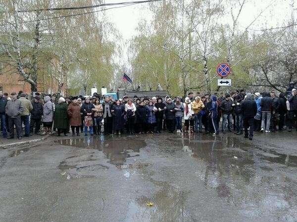 Зондеркоманда в украинском Славянске