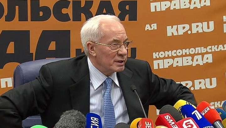 Николай Азаров предложил создать «правительство в изгнании»