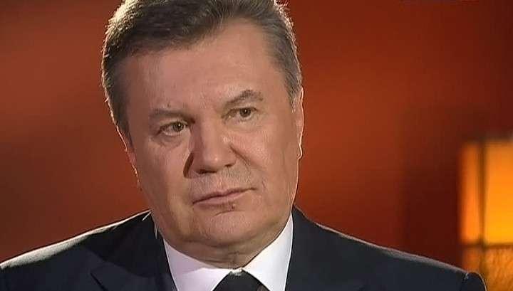 Виктор Янукович плохо спит из-за болей за Украину