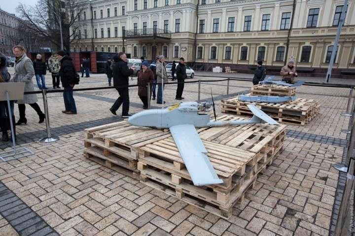 Российская техника в центре Киева! ШОК!
