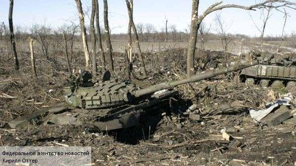 Танковый бой под Дебальцево стал адом для ВСУ