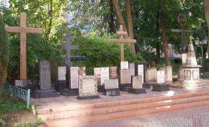Памятник казакам-эсэсовцам в Москве от верующих РПЦ