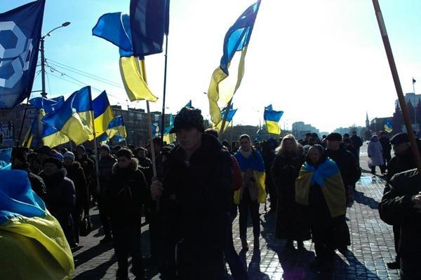 Срочное заявление харьковских партизан, 22.02.2015