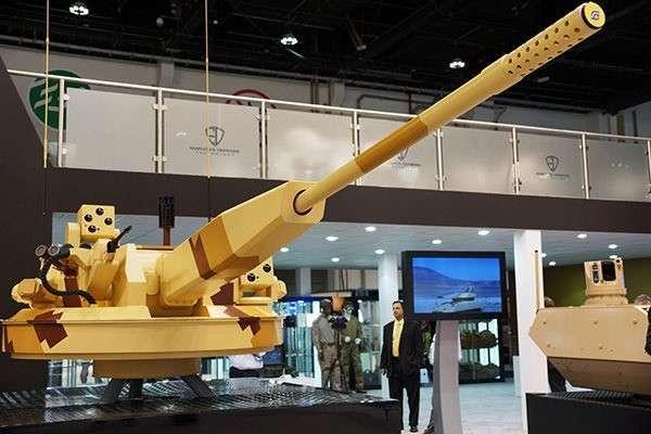 Российская автоматическая пушка АУ-220М стала сенсацией XII выставки вооружений в ОАЭ
