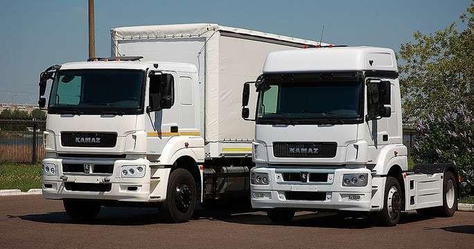 «КамАЗ» начал производство двух новых моделей с кабинами Mercedes