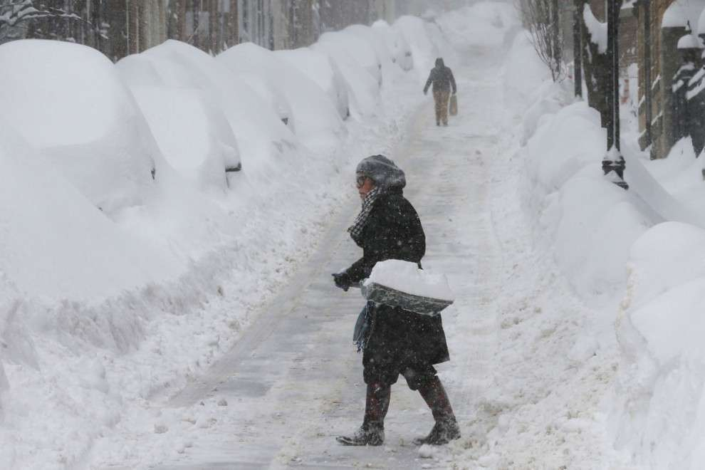 Снежные заносы