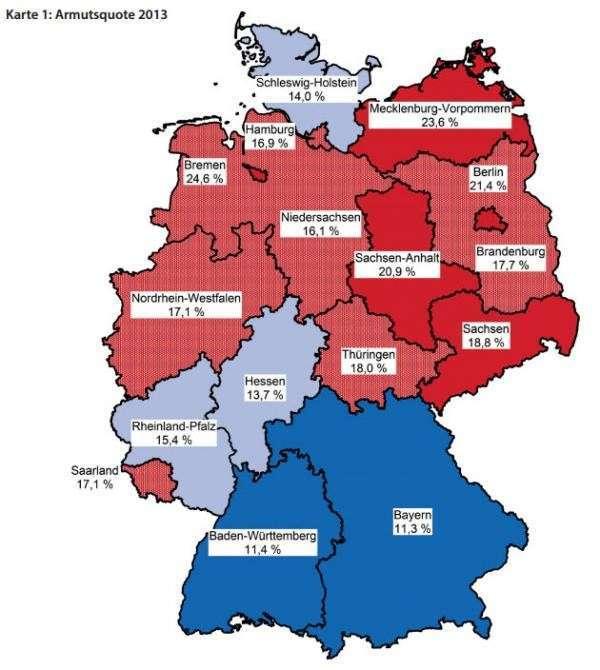 Германия: Нищета поставила рекорд с 1990-го года