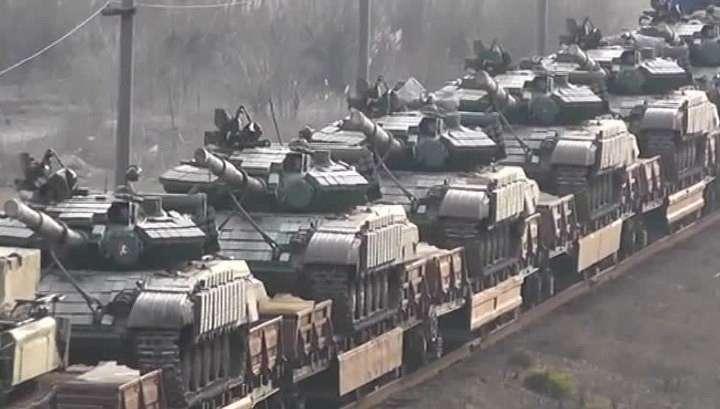 Киевская Хунта намерена сформировать танковый добровольческий батальон