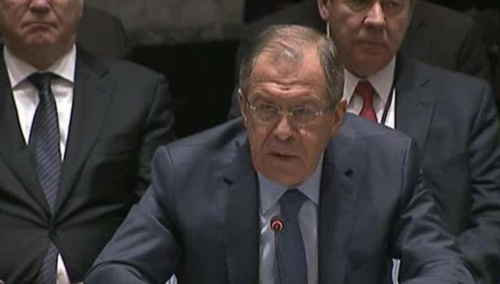 Сергей Лавров предостерёг СБ ООН от пропагандистского противостояния