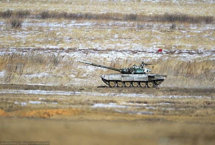 Танковый биатлон — 2015