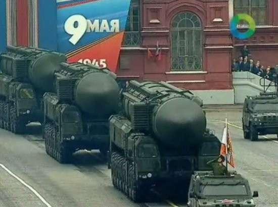 В Москве начинаются репетиции самого масштабного в истории парада Победы