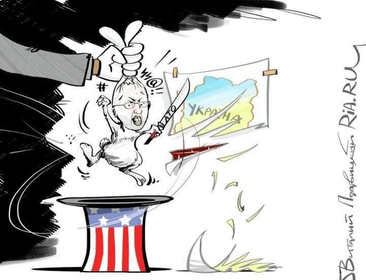 Запад подстрекает Киев к войне