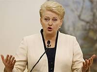 Кто довёл президентшу Литвы до истерики