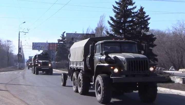 Армия ДНР завершила отвод тяжелых вооружений