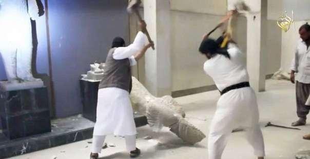 Террористы ИГИЛ уничтожают исторические памятники в Ираке