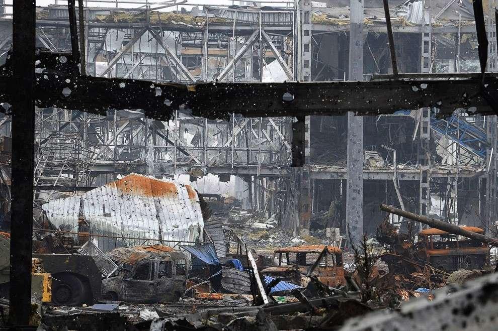 Разрушенный терминал