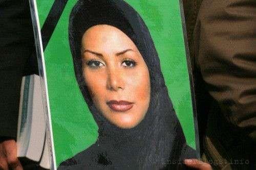 В Иране это была Неда Ага-Солтан