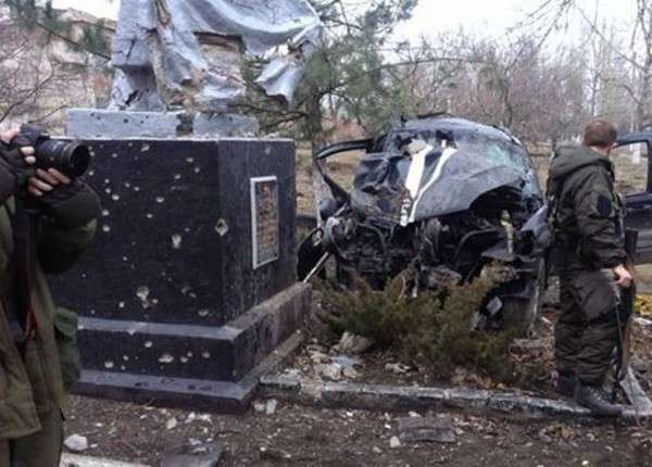 Комбат «Азова» врезался в памятник героям ВОВ и погиб