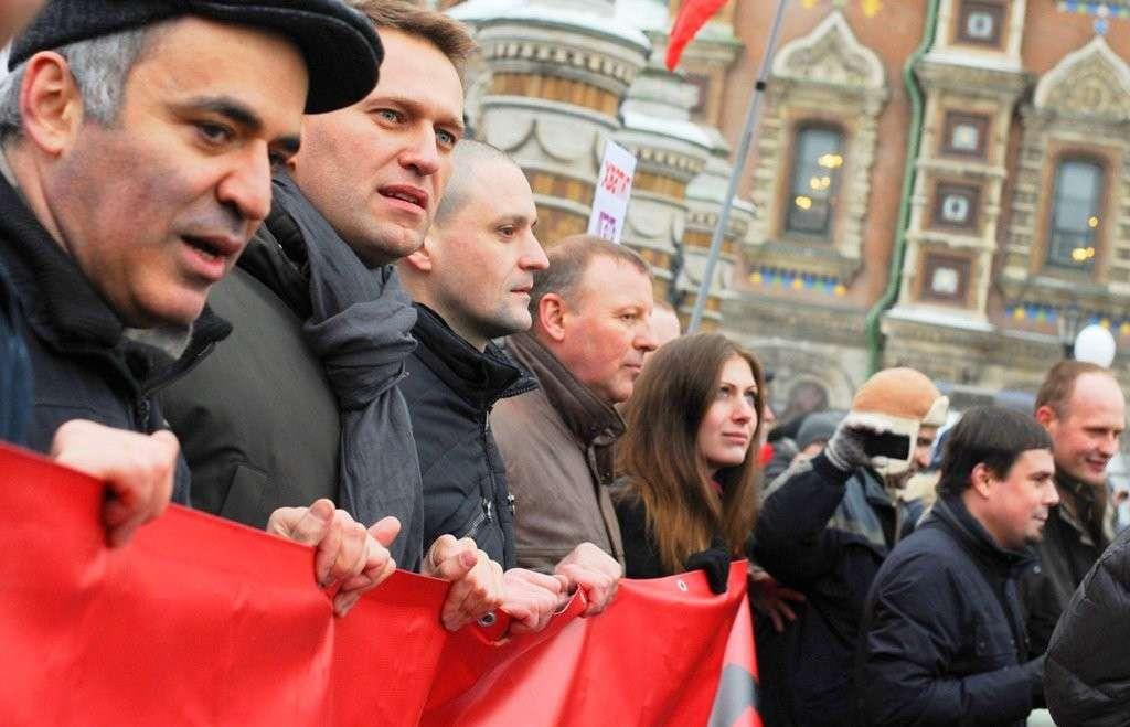 Почти все лидеры оппозиции [в России] или полностью евреи или имеют еврейские корни