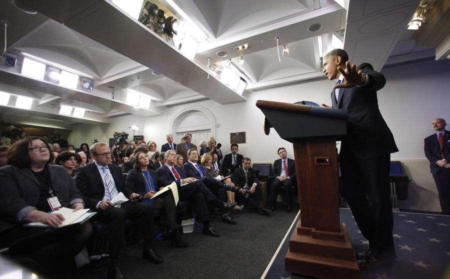 Американские журналисты считают, что Белый дом стремится скрыть свою деятельность от общества