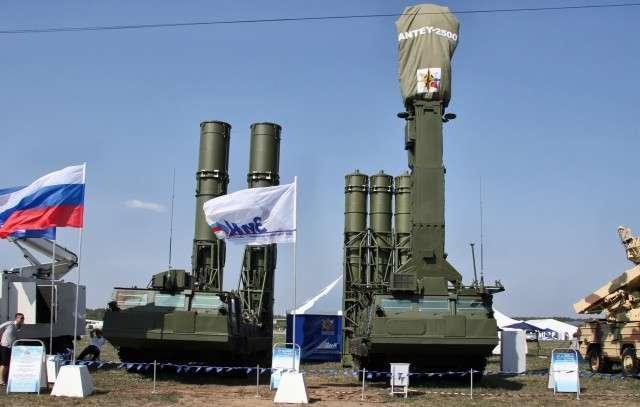 Россия начала поставки ЗРС «Антей-2500» в Египет