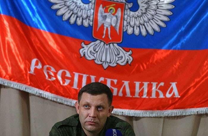 Глава Донецкой народной республики Александр Захарченко.