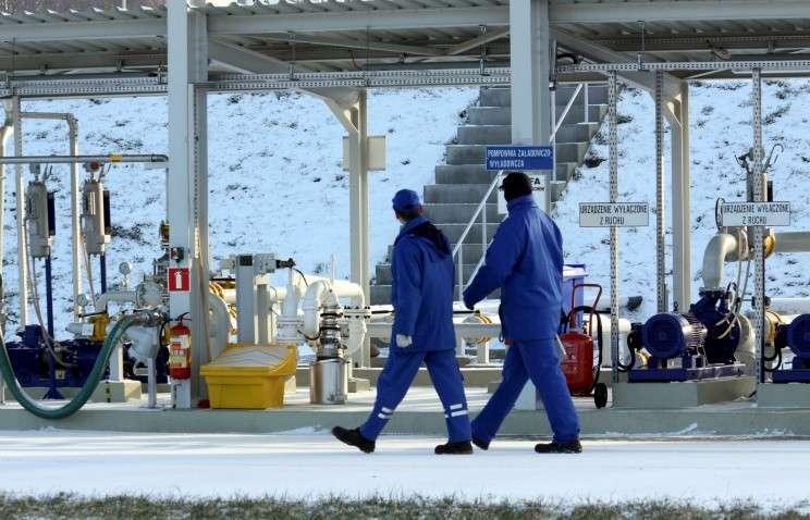 Начались реверсные поставки газа немецкой RWE на Украину через Польшу