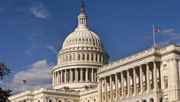 Здание американского Сената в Вашингтоне. Архивное фото.