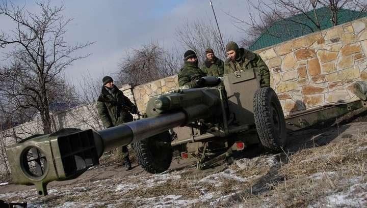 ЛНР отвела больше тяжёлой техники, чем предусмотрено Минскими соглашениями