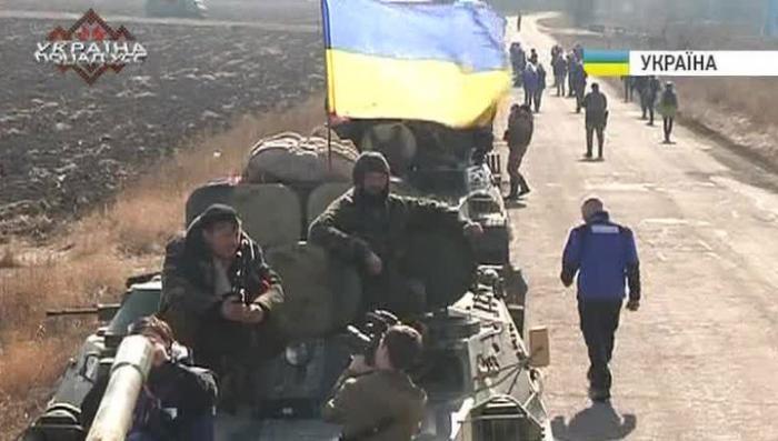 Киев лукавит, заявляя об отводе тяжёлой техники