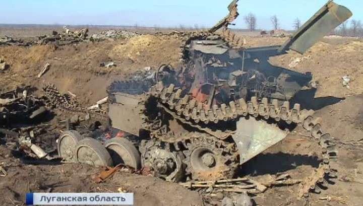 «Подарки» по-киевски: отступая, силовики бросили боеприпасы и заминированные трупы