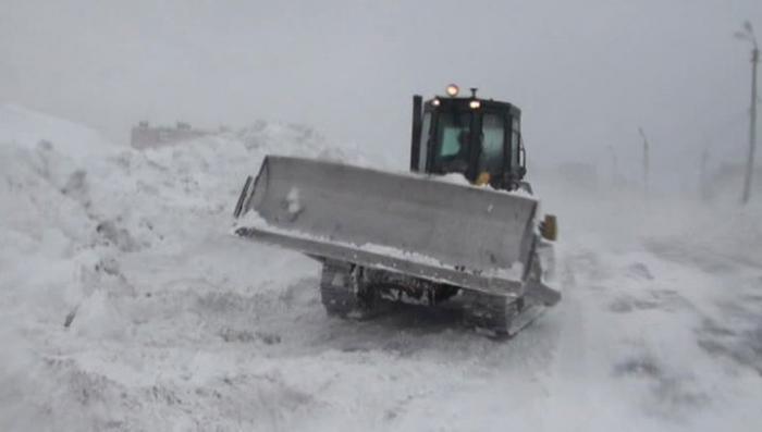 Циклон устроил в Хабаровском крае транспортный коллапс