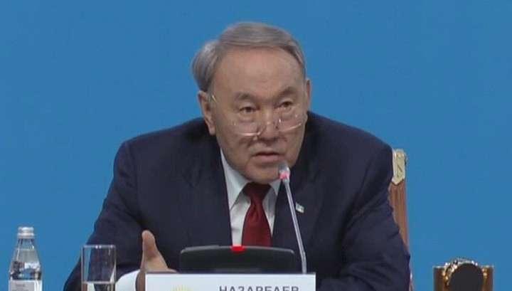Нурсултан Назарбаев согласился участвовать в выборах президента Казахстана