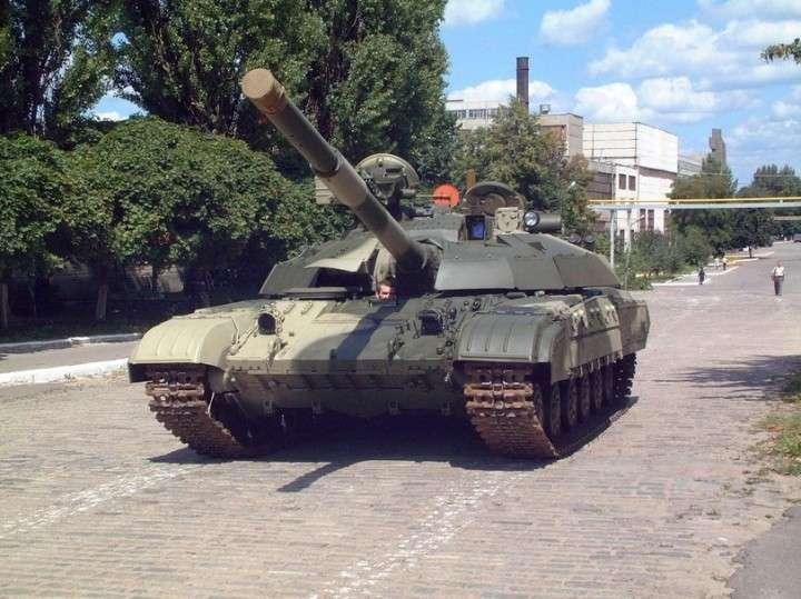 Армия Юго-Востока Украины обзавелась двумя танками Т-64