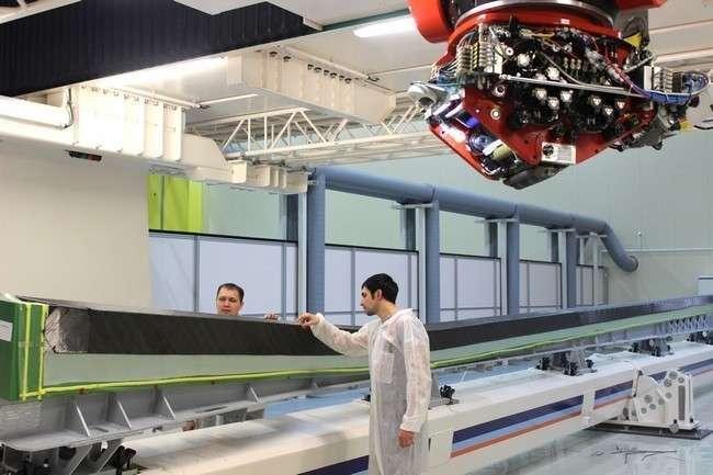 «АэроКомпозит-Ульяновск» приступил к изготовлению полноразмерных деталей самолета МС-21