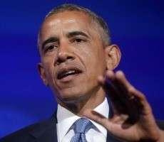 Пьяные охранники Обамы на машине протаранили ограждение у Белого дома
