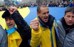 Все митинги против власти на Украине теперь называют «проплаченными»