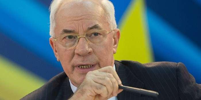 Николай Азаров: Порошенко - мошенник, а Яценюк – дурак