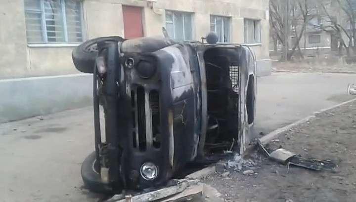 В Константиновку киевская Хунта ввела карателей из «Правого сектора»