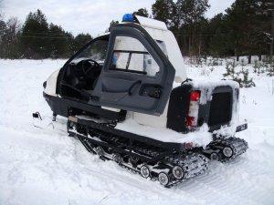 Снегоход «Беркут» с двухместной кабиной проходит испытания для поставок в армию